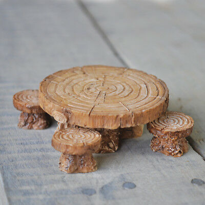 Fairy Garden Accessories: Seats, Benches, Tables, Stools, Fiddlehead Miniatures • 7.99£