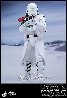 $ CDN327.76 • Buy Hot Toys 1/6 Star Wars Mms322 First Order Snowtroopers Officer Ver Action Figure