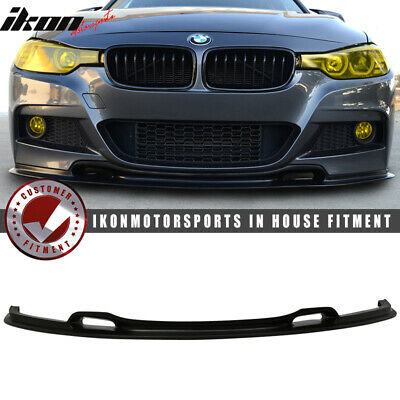 AU262.16 • Buy Fits 12-18 BMW F30 3 Series VR Style Front Bumper Lip Unpainted Black - PU