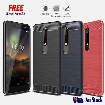 AU10.99 • Buy Heavy Duty Shockproof Matte Case Cover For Nokia 2.1 3.1 X6 Nokia 6.1 Plus 7.1