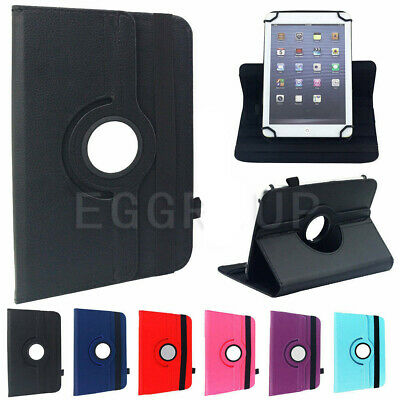 AU22.99 • Buy Slim 360 Rotate PU Leather Cover Case Universal For 9  9.7  10.1  Inch Tablet PC