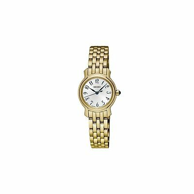 $ CDN272 • Buy Women's Seiko Gold Tone Stainless Steel Watch SXGP64 New In Box