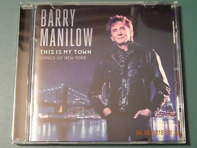 Barry Manilow This Is My Town Songs Of New York Cd 2017  • 6.44£