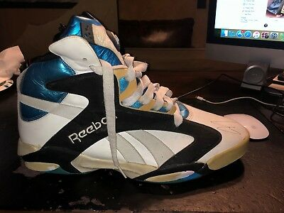 8a96143834eacf Shaquille O Neal Signed Reebok Shoe Autographed Player Exclusive PE Rookie  Pumps • 500.00