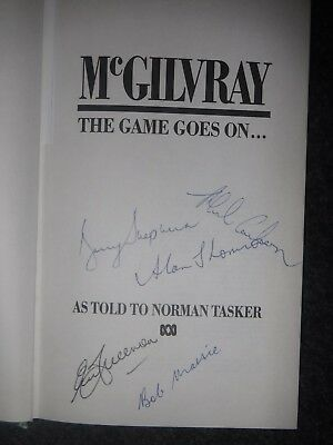 AU30 • Buy Cricket Book Signed By 5 Test Match Cricketers