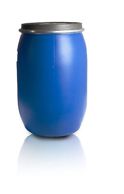 Plastic Barrel 60L With Clamp Ring Water Storage Container Drum Keg Food Grade  • 12.15£