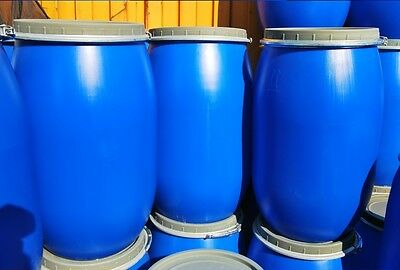 Plastic Barrel 85L With Clamp Ring Water Storage Container Drum Keg Food Grade  • 12.25£
