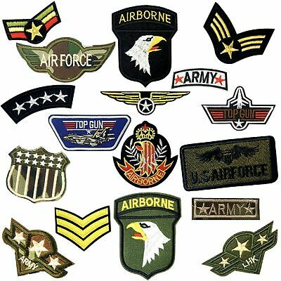 £1.99 • Buy Army Military Themed Embroidered Logo Patch Badge Iron On / Sew On Fancy Dress