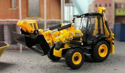 JCB 3CX ECO Excavator Digger 1:76 OO/00 Oxford Hornby Bachmann Scenecraft Model • 32£