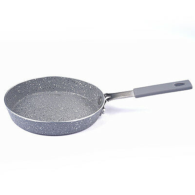 Small Mini Granite Coated Pan 14cm Non Stick Egg Omelette Pancake Fry Cooking • 10.14£