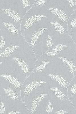 £31 • Buy Sephora Steel Made To Measure Patterned (Leaves) Dim-out Complete Roller Blind