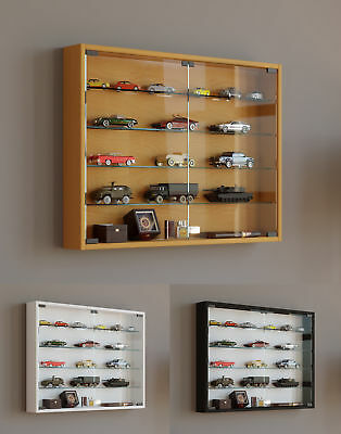 Glass Display Cabinet Wall Mounted Wide Large Toys Vapes Various Colours • 1,234£