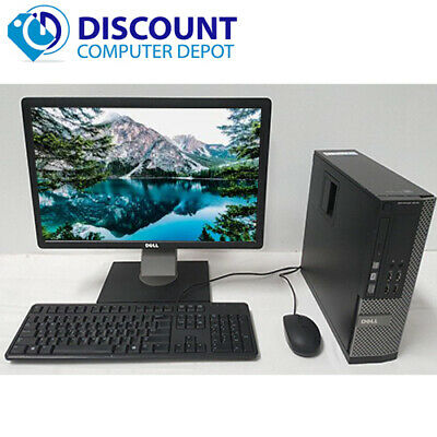 $ CDN193.41 • Buy Dell Desktop 9010 USFF PC Intel I5 4GB 320GB Win10 Home 19  LCD W/ Key-Mice Wifi
