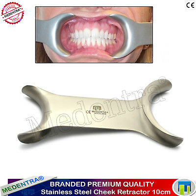 £45 • Buy Dental Stainless Steel Cheek And Lip Tongue Mouth Opener Retractor Tissue 10cm