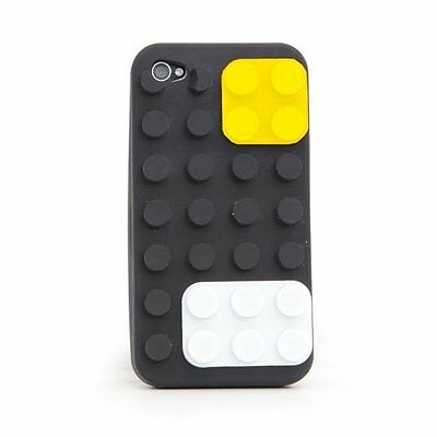 Thumbs Up! Colour Block Case For IPhone 4 And 4S Black • 3.99£