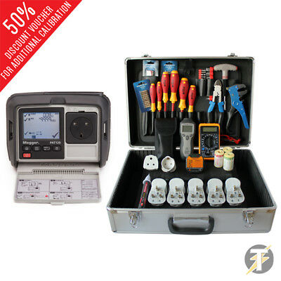 £556 • Buy Megger PAT120 Hand Held Battery Operated Portable Appliance PAT Tester & PBK101
