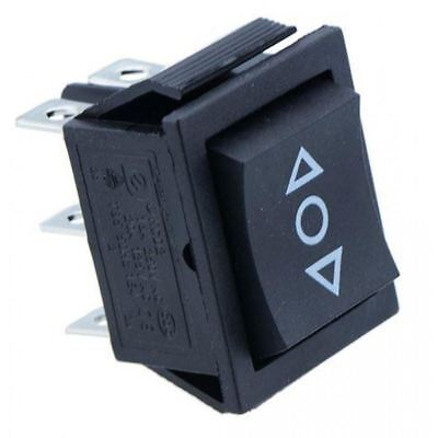 2 X (On)-Off-(On) Rectangle Rocker Switch DPDT • 2.75£