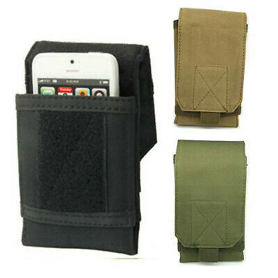 $5.99 • Buy Tactical Army Military Molle Pouch Cell Phone Case Waist Pack Belt Bag 6  Pocket