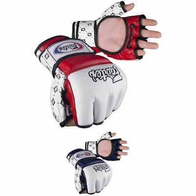 $50.95 • Buy FAIRTEX AMATEUR COMPETITION GLOVES In Genuine Leather, Thumb Support. Fast Ship