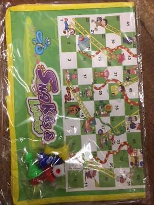 OneX Ludo Giant Snakes And Ladders Or Ludo Play Traditional Children Game • 4.38£