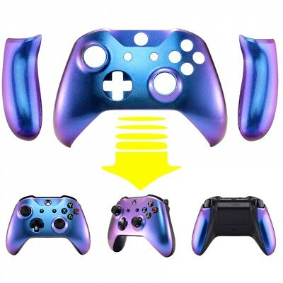 $18.95 • Buy Chameleon Purple Blue Front Housing Shell Faceplate For Xbox One S X Controller