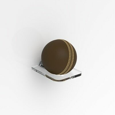 £3.99 • Buy Acrylic Cricket Ball Display Stand / Wall Mounted / Signed Autographed Holder