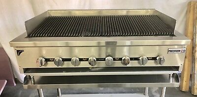 $1575 • Buy 48  Char Broiler Grill 3 Burner Charbroiler Radiant Natural LP NEW 4' HEAVY DUTY