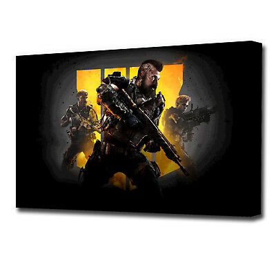 £17.99 • Buy Call Of Duty Black Ops 4 Gaming Canvas VZ1613