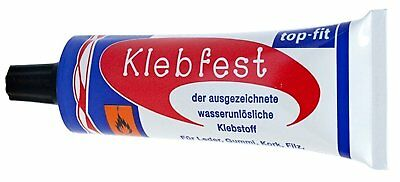 Klebfest Shoe Repair Glue Leather Glue Extra Strong Contact Adhesive 30G • 2.99£