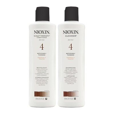 AU23.06 • Buy Nioxin System 4 Cleanser And Scalp Tehrapy 10.1 Oz Duo