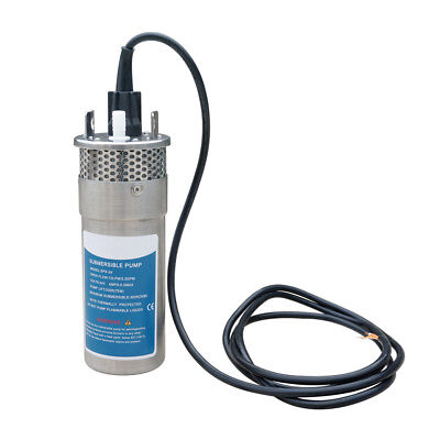 £140.45 • Buy High Quality Solar Powered Deep Well Water Pump Submersible DC24V For Irrigation