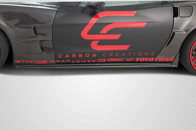 $457 • Buy Carbon Creations ZR Edition Side Skirts 2PC For 2005-2013 Chevrolet Corvette C6