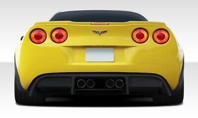 $570 • Buy Duraflex GT500 Rear Diffuser - 1 Piece For 2005-2013 Chevrolet Corvette C6