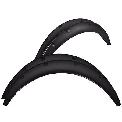 $24.40 • Buy 4 X Universal Car Truck Tires Fender Flares Over Wide Body Wheel Arches Flexible