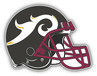 $ CDN5.30 • Buy Rhein Fire NFL Europe Football Helmet Logo Car Bumper Sticker  3'', 5'' Or 6''