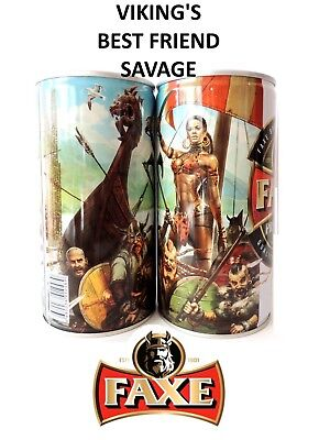 $ CDN13.24 • Buy Faxe Beer Can VIKING'S Best Friend Part 2 Savage Can Volume 900 Limited Edition
