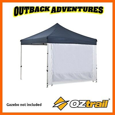 AU135 • Buy 2 X OZTRAIL DELUXE GAZEBO 2 ZIP WALL WITH DOOR NEW MODEL