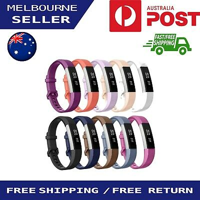 AU4.88 • Buy Replacement Silicone Wrist Watch Band Bracelet Strap For Fitbit Alta/HR
