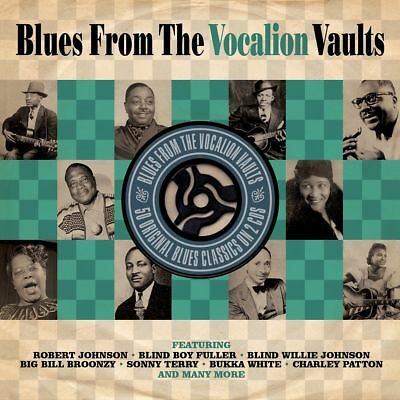 £5.99 • Buy BLUES FROM THE VOCALION VAULTS (Various Artists) 2CD