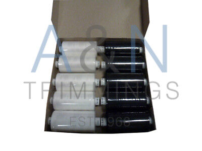 Coats Moon Tkt120 Full Box Or 5/5 Mix Of 10 Reels Spun Polyester Sewing Thread  • 9.30£