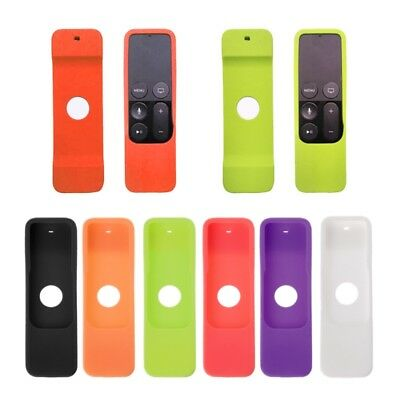 AU8.06 • Buy Silicone Case Dust-Proof Protective Cover For Apple TV 4 Th Remote Controller