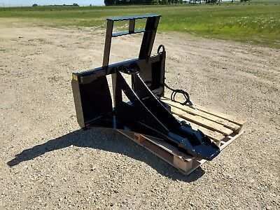 $1695 • Buy New Tree & Post Puller! Spade Cutter & Dig, Commercial Duty, Skid Steer Tractor