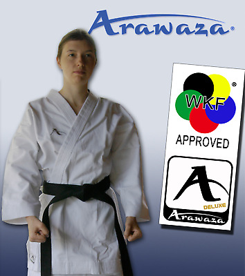 £89.50 • Buy Arawaza KATA DELUXE Karate Suit Gi MARTIAL ARTS 12oz WKF APPROVED - Adult Sizes