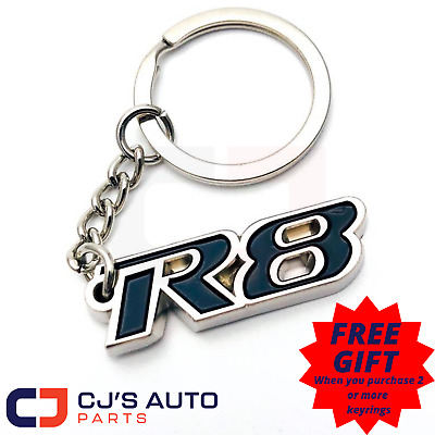 AU12.95 • Buy R8 Commodore Keyring Keychain VT VX VY VZ VE VF GTS Clubsport Sedan Wagon Ute