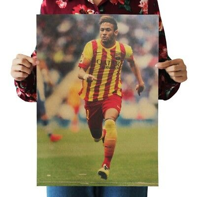 Poster Office Restaurant Near Me FC Barcelona Neymar Soccer Football • 10.16£