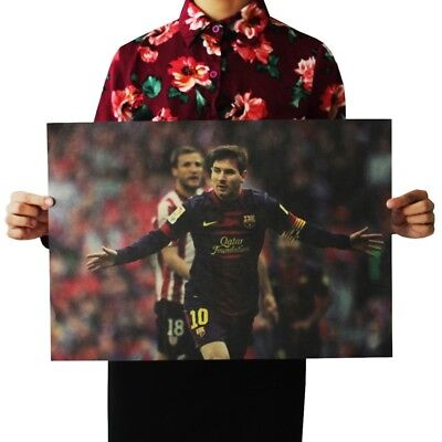 Kids Wall Lionel Messi FC Barcelona Soccer Footballer Sports Poster • 10.16£