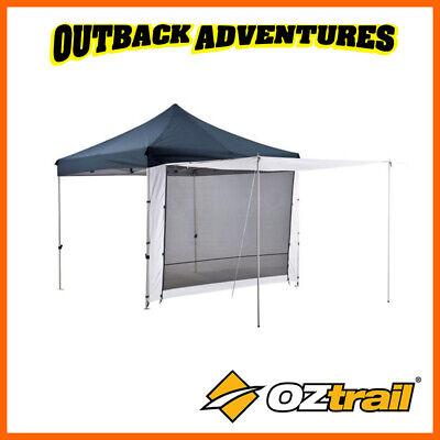 AU68 • Buy Oztrail Deluxe Gazebo 2 Zip Wall With Door New Model