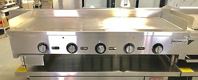 "$1899 • Buy NEW 60"" Griddle Thermostatic Flat Grill Thermostat Temperature Control Gas"