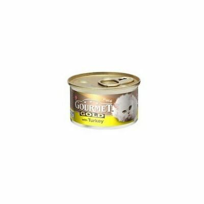 Gourmet Gold Cat Food With Turkey In Pate  (85g) (Pack Of 6) • 7.09£