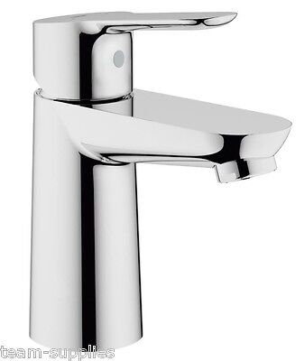 £42.89 • Buy GROHE BauEdge Single Lever Mono Basin Mixer Tap Smooth Bodied 23330000